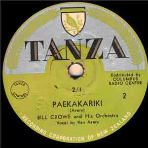 Bill Crowe And His Orchestra - Paekakariki / Havin' Fun mp3 download
