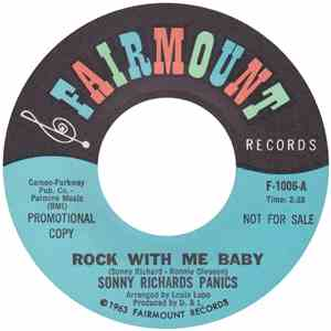 Sonny Richards Panics - Rock With Me Baby mp3 download