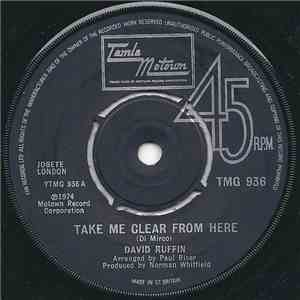 David Ruffin - Take Me Clear From Here mp3 download