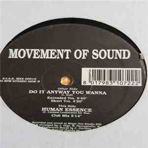 Movement Of Sound - Do It Anyway You Wanna / Human Essence mp3 download