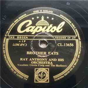 Ray Anthony And His Orchestra - Brother Fats / Mr. Anthony's Blues mp3 download