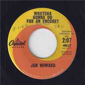 Jan Howard - Whatcha Gonna Do For An Encore? mp3 download