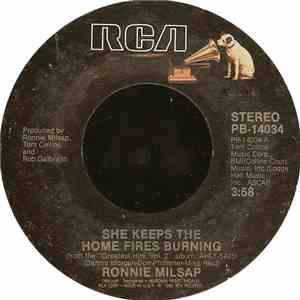 Ronnie Milsap - She Keeps The Home Fires Burning / Is It Over mp3 download