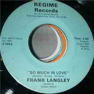 Frank Langley & Frank Green  - So Much In Love mp3 download